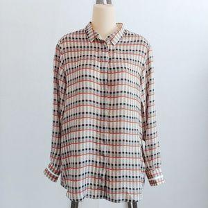 Paul Smith Black Silk Button Down Shirt Size 40 10